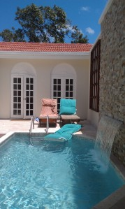 Private Romeo & Juliet Suite pool